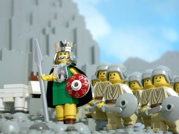 Saul and his army search for David
